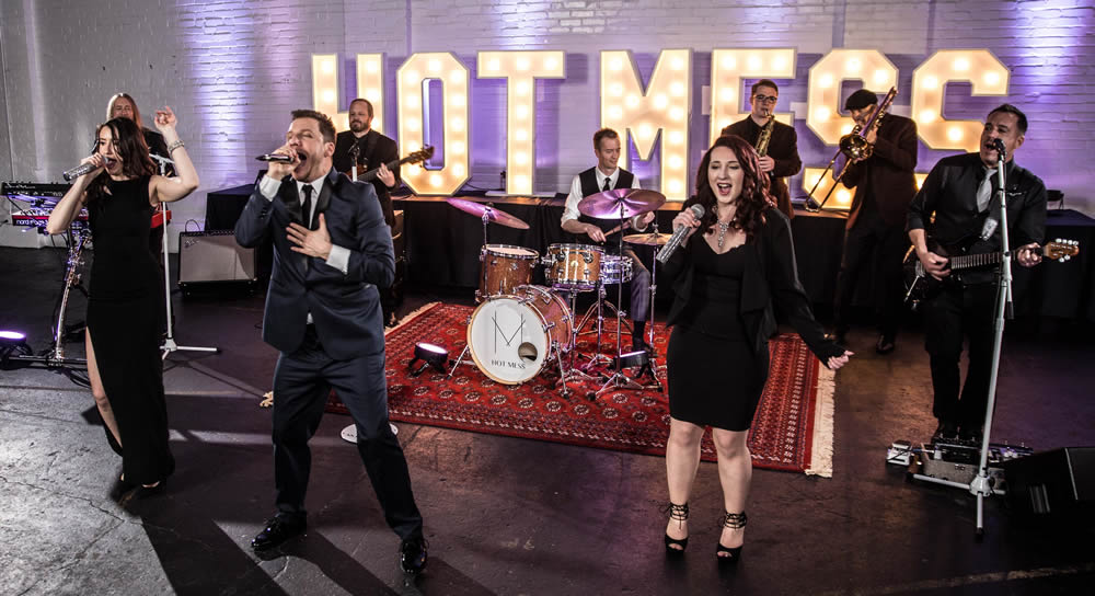 The HOT MESS Band   Fantastic Vocals High Energy Wedding